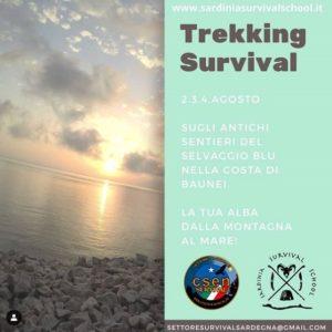 Trekking Survival sui sentieri del Selvaggio Blu @ Baunei