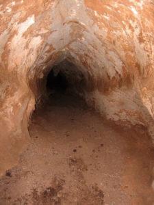 ambiente ostile in grotta