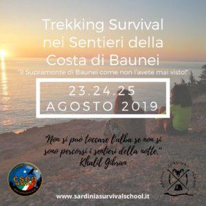 Trekking survival lungo i sentieri del Selvaggio Blu @ Santa Maria Navarrese