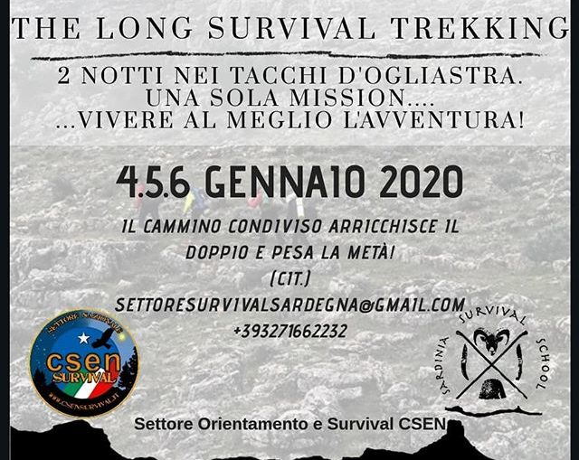 long survival trekking